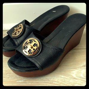 Tori Burch leather sandals
